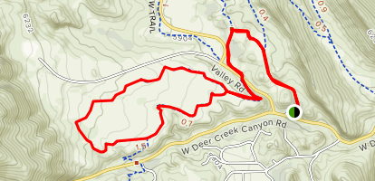 Grazing Elk Trail Map