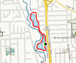 Cricket Creek Loop Map