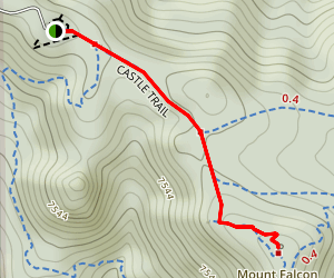 Mount Falcon Lookout Trail Map
