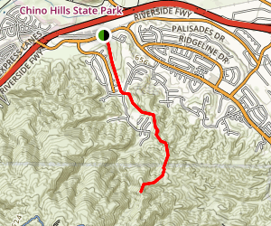 Fresno Canyon Trail Map