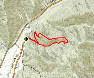 Proctor Mountain Trail Map