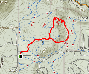 Three Sisters and Little Brother Trails Map