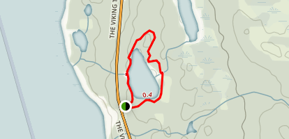 Berry Head Pond Trail Map