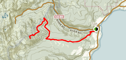 Scott Peak Trail Map