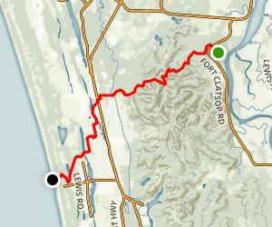 Fort to Sea Trail Map
