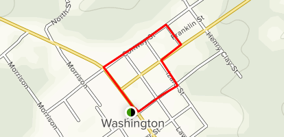 Historic Washington SP Walking Tour Map