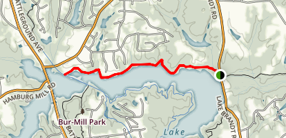 Piedmont Trail Map