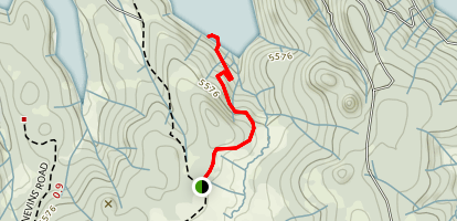 Shaver Lake Trail Map