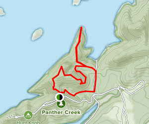 Point Lookout Loop Trail Map