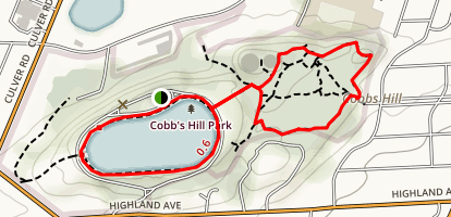 Washington Grove/Cobbs Hill Park Map