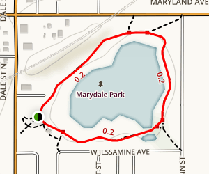 Loeb Lake Loop Trail Map