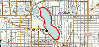 Lake Phalen Map