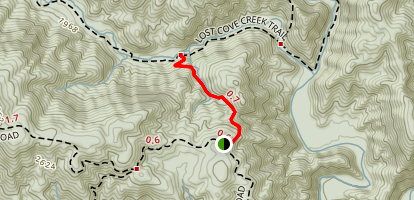 Hunt Fish Falls Trail Map