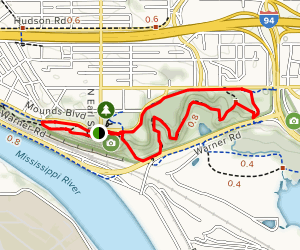 Indian Mounds Loop Trail Map