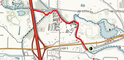 West Haven Trail Map