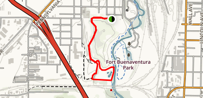 Kingfisher Wetland Trail Loop Map