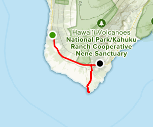 South Point and the Ka'u Coast Scenic Drive Map
