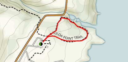 Kuloa Point Trail Map