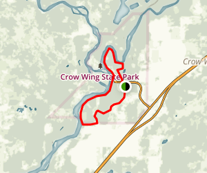 Crow Wing Confluence Trail Map