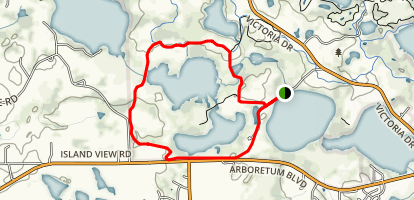 Lundsten Lake Loop Map