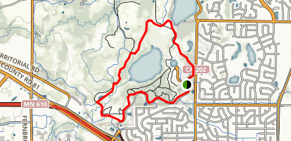Mud Lake Loop Map