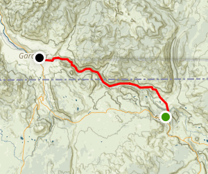 Yellowstone River Trail Map