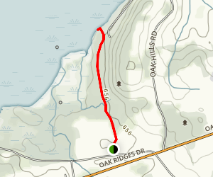 Rice Lake Trail Map