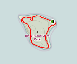 Blake Island State Park Trails Map