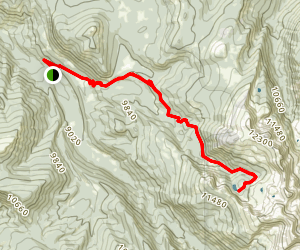 Nolan Lake Trail Map