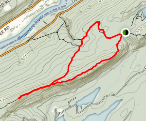 Racoon Ridge and Appalachian Trail Map