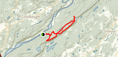 Appalachian Trail, Catfish Pond, Rattlesnake Swamp Loop  Map