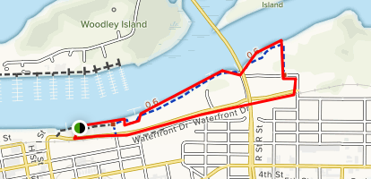 Humboldt Harbor Waterfront Trail Map