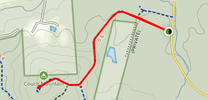 Couch Mountain Trail Map
