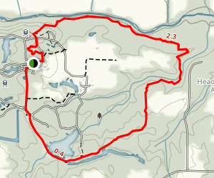 Floodplain Hiking Trail Map