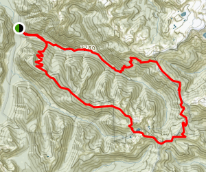White Pass Pilot Ridge Loop Trail Map