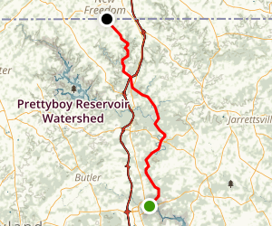 Northern Central Railroad Trail Map