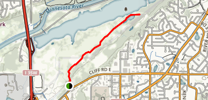 Black Dog Lake Trail Map