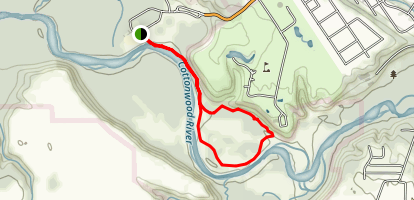 Cottonwood River and Hiking Club Trail Map