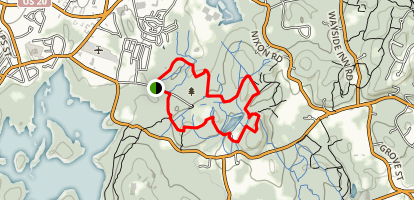 Gibbs Mountain Loop Trail Map