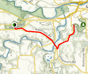 Red Jacket Trail Map