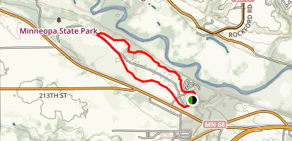 Minneopa State Park Loop Map