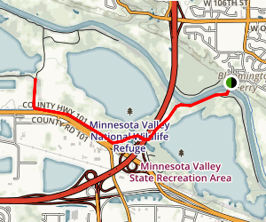 Wilkie Trail Map