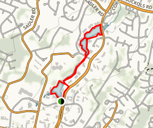 Innsbrook Lakes Trails Map