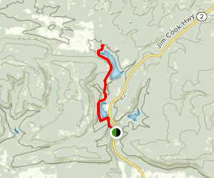Mountain Trail Map