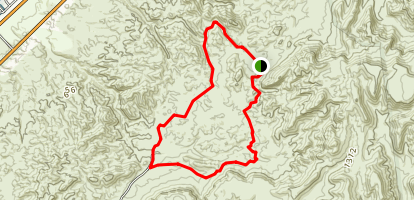 Gray Eagle Mine Trail Map