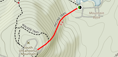Incline Trail Map