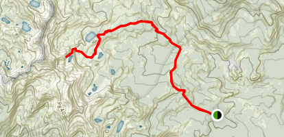 Chittenden Lake Map