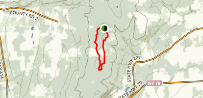 Burnt Hill Trail Map