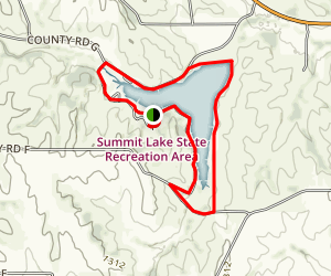 Summit Lake Trail Map