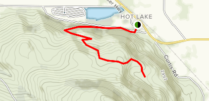 Hot Lake Springs Map